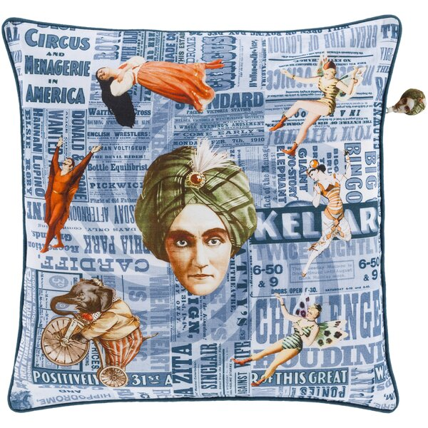 Janie 100% Cotton Throw Pillow Cover by Latitude Run